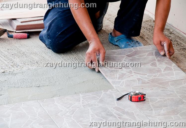 Cách thay gạch sàn bị bể