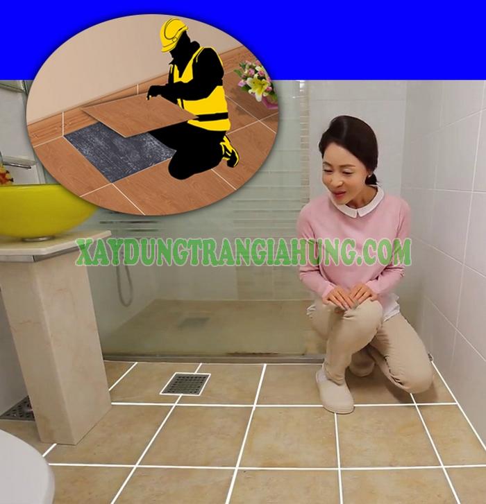 Cải tạo sàn gạch