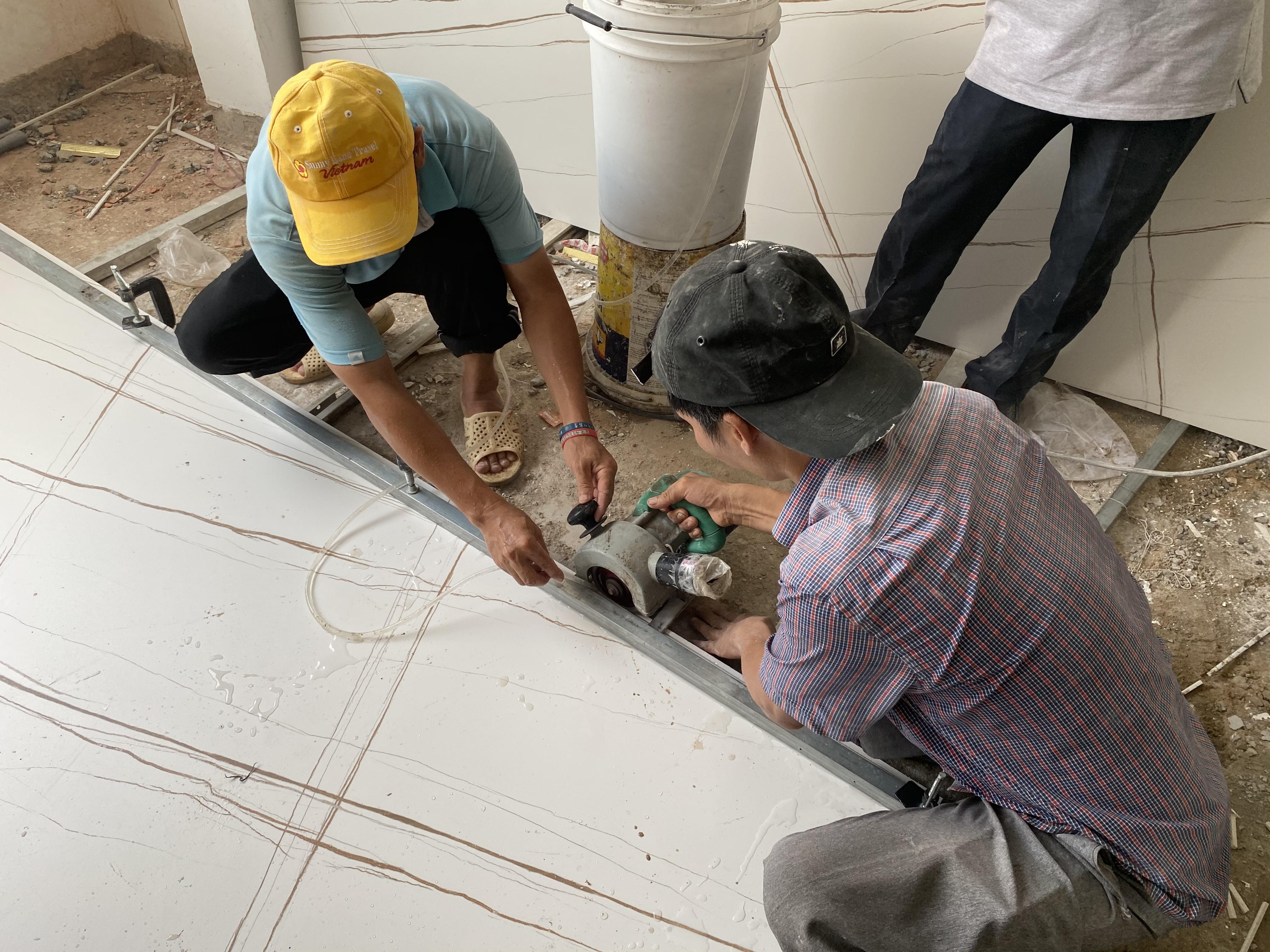 Gạch lát sàn nhà tắm đạt 100% tiêu chuẩn chất lượng