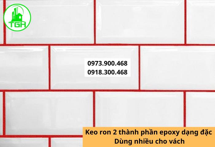 Keo Chà Ron Là Xi Măng Trắng